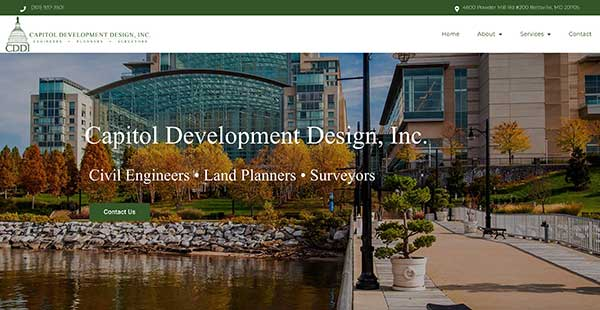 Capitol Development Design Inc. Logo