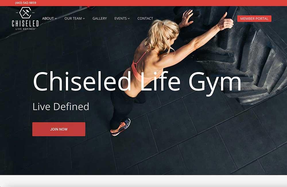 Chiseled Life Gym screenshot